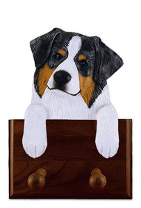 Australian Shepherd Leash Holder