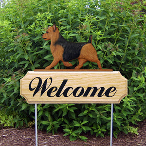 Australian Terrier DIG Welcome Stake - Michael Park, Woodcarver