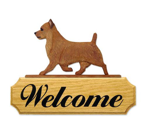 Australian Terrier DIG Welcome Sign