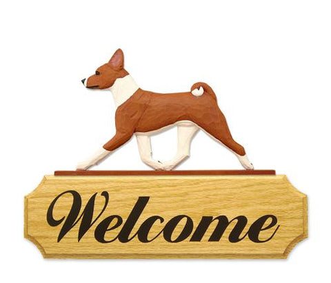 Basenji DIG Welcome Sign