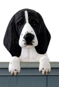 Basset Hound Door Topper