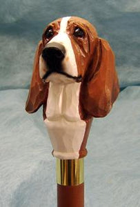Basset Hound Walking Stick