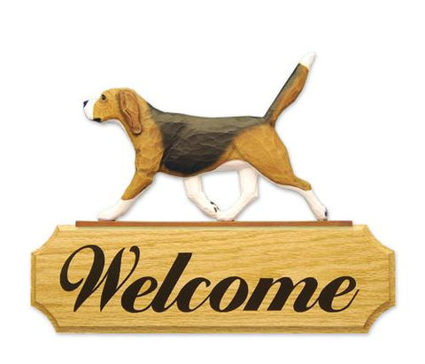 Beagle DIG Welcome Sign
