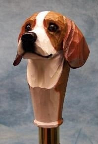 Beagle Walking Stick