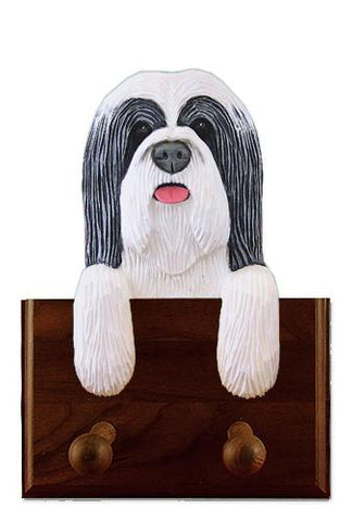 Bearded Collie Leash Holder