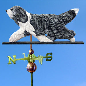 Bearded Collie Weathervane - Michael Park, Woodcarver