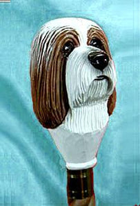Bearded Collie Walking Stick