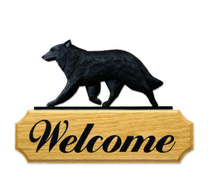 Belgian Sheepdog DIG Welcome Sign