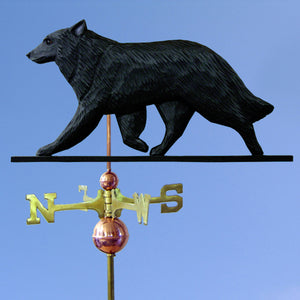 Belgian Sheepdog Weathervane - Michael Park, Woodcarver