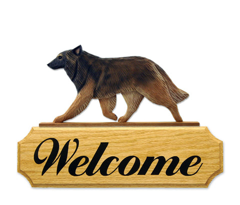 Belgian Tervuren DIG Welcome Sign