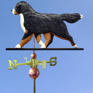 Bernese Mt. Dog Weathervane - Michael Park, Woodcarver