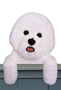 Bichon Frise Door Topper