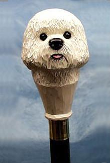 Bichon Frise Walking Stick