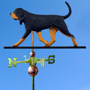 Bloodhound Weathervane - Michael Park, Woodcarver