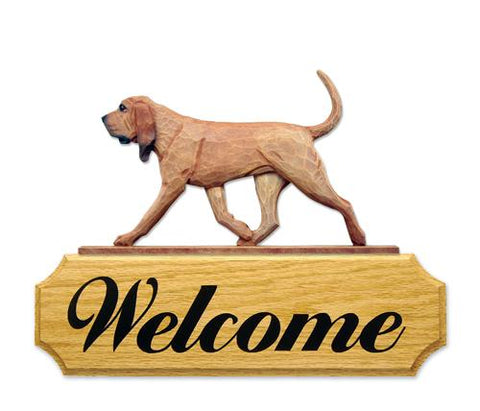 Bloodhound DIG Welcome Sign