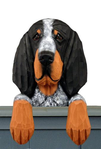 Bluetick Coonhound Door Topper