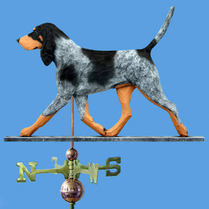 Bluetick Coonhound Weathervane - Michael Park, Woodcarver