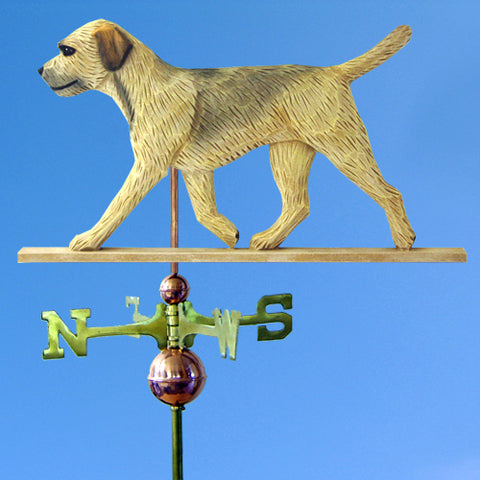 Border Terrier Weathervane - Michael Park, Woodcarver