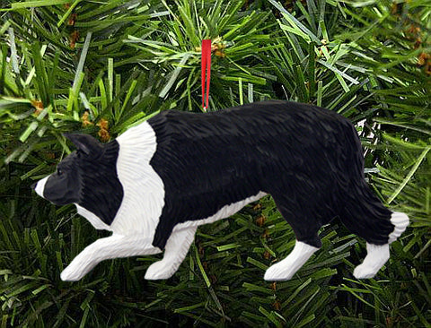 Border Collie DIG Ornament