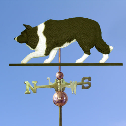 Border Collie Weathervane - Michael Park, Woodcarver
