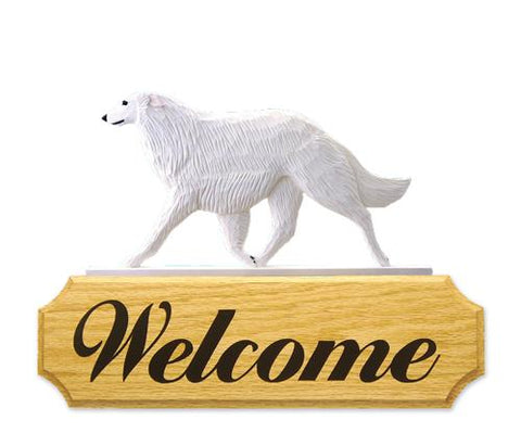 Borzoi DIG Welcome Sign