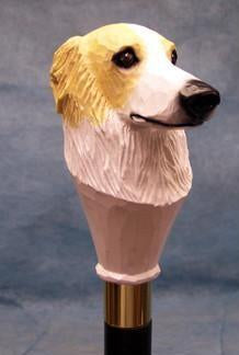 Borzoi Walking Stick