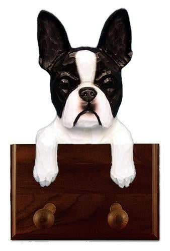 Boston Terrier Leash Holder