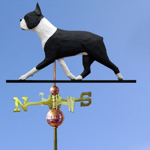 Boston Terrier Weathervane - Michael Park, Woodcarver