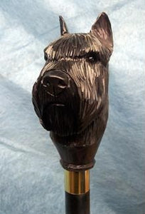 Bouvier des Flandres Walking Stick