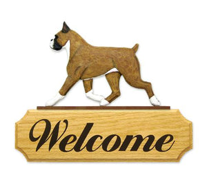 Boxer DIG Welcome Sign