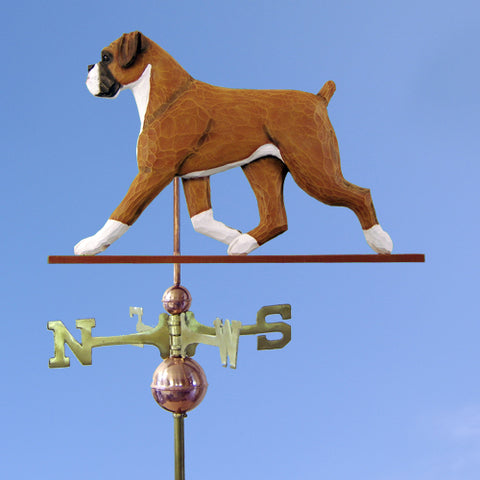 Boxer (Natural) Weathervane - Michael Park, Woodcarver