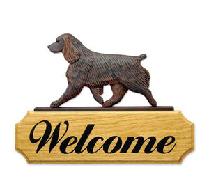 Boykin Spaniel DIG Welcome Sign