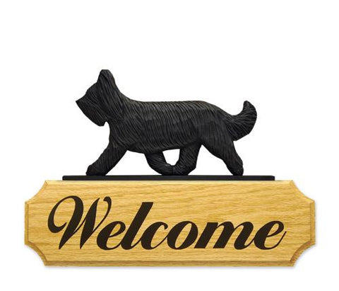 Briard DIG Welcome Sign