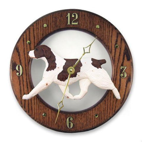 Brittany Wall Clock - Michael Park, Woodcarver