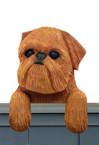 Brussels Griffon (Natural) Door Topper