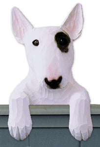 Bull Terrier Door Topper