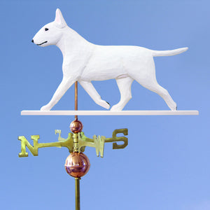 Bull Terrier Weathervane - Michael Park, Woodcarver