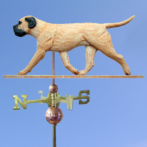 Bullmastiff Weathervane - Michael Park, Woodcarver