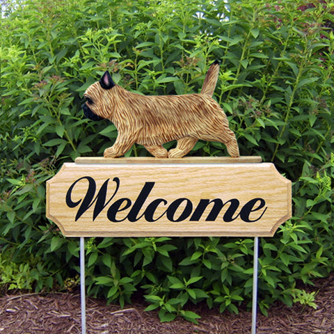 Cairn Terrier DIG Welcome Stake