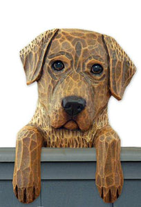 Chesapeake Bay Retreiver Door Topper