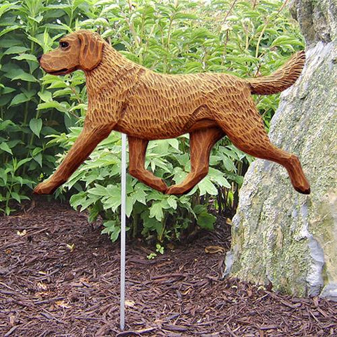 Chesapeake Bay Retreiver Garden Stake - Michael Park, Woodcarver