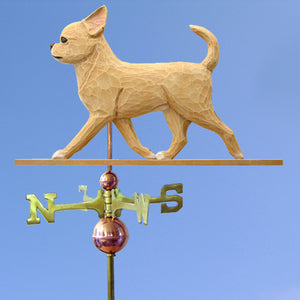 Chihuahua Weathervane - Michael Park, Woodcarver