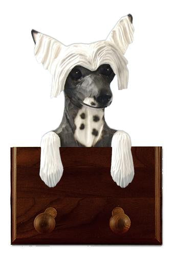 Chinese Crested Leash Holder