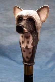 Chinese Crested Walking Stick