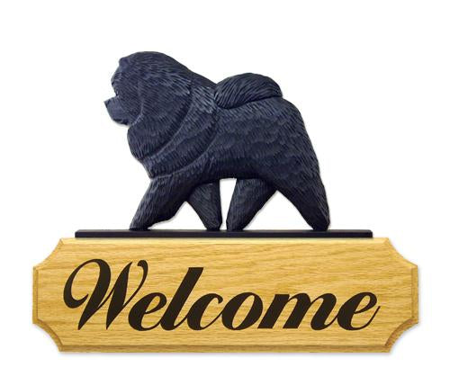 Chow Chow DIG Welcome Sign