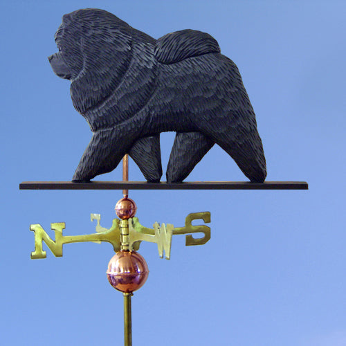 Chow Chow Weathervane - Michael Park, Woodcarver