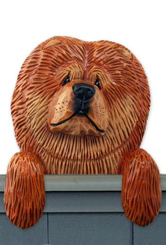 Chow Chow Door Topper