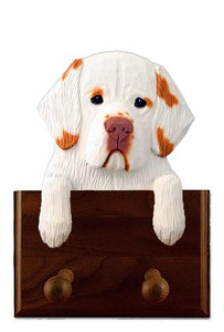 Clumber Spaniel Leash Holder