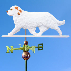Clumber Spaniel Weathervane - Michael Park, Woodcarver