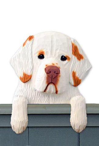 Clumber Spaniel Door Topper